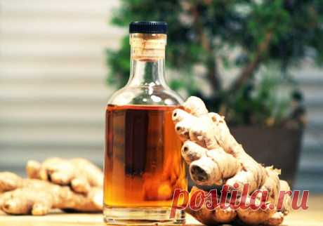 The ancient Tibetan recipe of ginger tincture It perfectly restores sight, is very useful at quinsy and catarrhal diseases