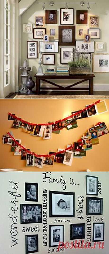 «Фотодизайн» квартиры - куча идей!
