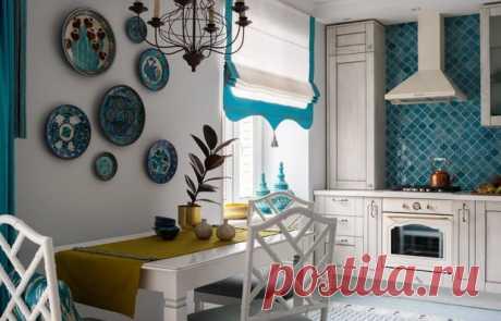 Какие шторы выбрать для кухни: римские, английские или портьеры? — INMYROOM