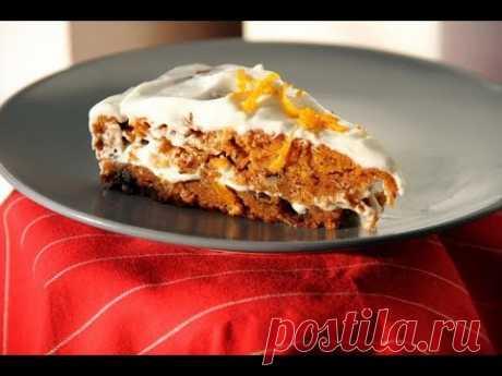 Морковный торт «Фантастический». Пошаговый рецепт