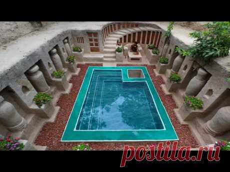 Unbelievable! Build Most Amazing Simple Underground Temple Living of the King