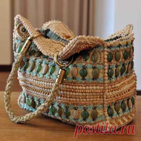 Knitted bags. Ideas