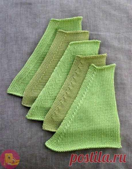 Линии реглана: как красиво делать убавления в вязании спицами — Сделай сам, идеи для творчества - DIY Ideas