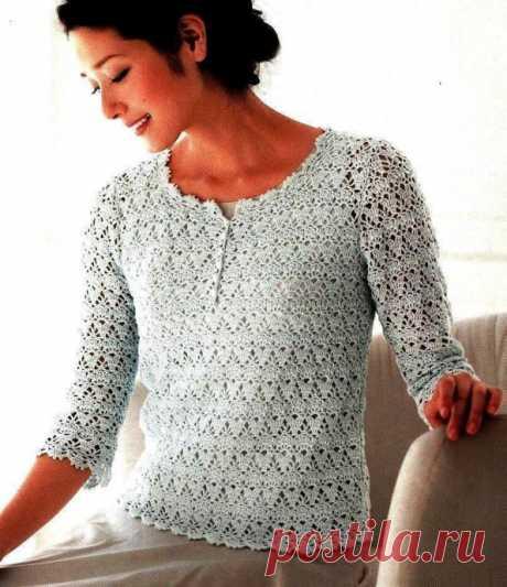 El pulóver chiné para un verano