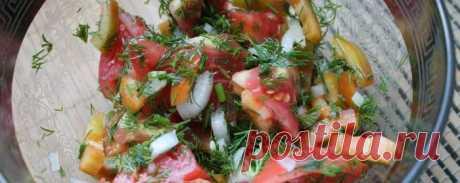 Летний салат для похудения - Диетический рецепт ПП с фото и видео - Калорийность БЖУ