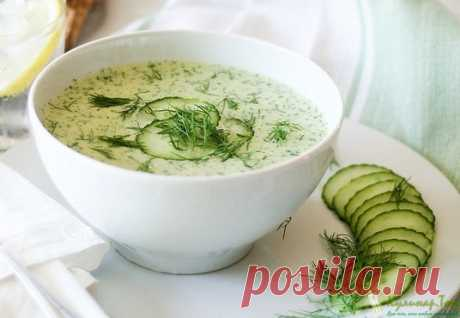 Холодный огуречный суп | Кулинар.Топ