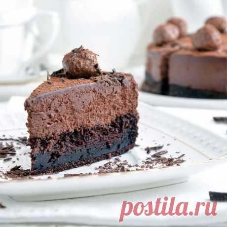 Торт-мусс Трюфель   HomeBaked