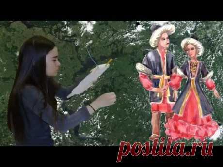 Костюмы народов Поволжья - The costumes of the peoples of the Volga region