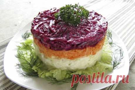 """Салат """"Здоровье""""  Вкусный и сытный салат с большим количеством витаминов."""