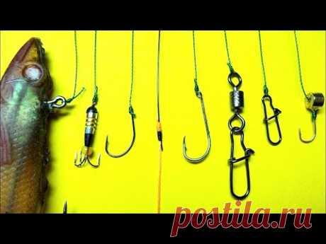 Лучший рыболовный узел uni knot | как привязать крючок к леске | рыболовные узлы для рыбалки - YouTube