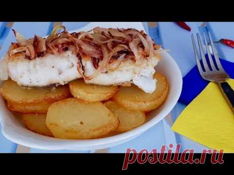 """Я уверена что многие из вас так готовили, но не многие знают что это блюдо """"Рыба по Ленинградски"""""""