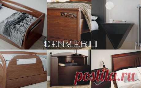 Генмебли - Производитель деревянной мебели для спальни и мебели на заказ из массива ольхи, ясеня, бука, дуба