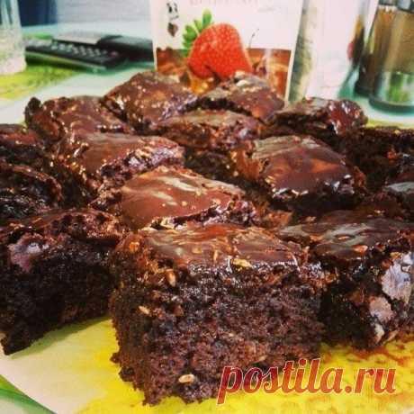 Как приготовить самый шоколадный брауни - рецепт, ингридиенты и фотографии