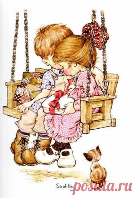 Волшебный мир детства Сары Кей (Sarah Kay) – Ярмарка Мастеров