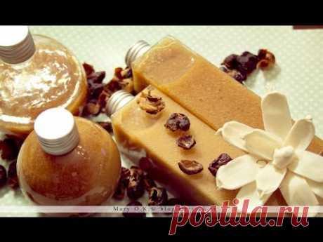 Домашний шампунь для волос и тела из мыльных орехов