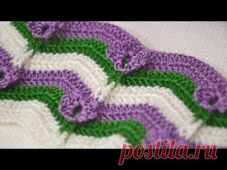 Узор Подснежники — Crochet by Ellej   Вязание крючком от Елены Кожухарь