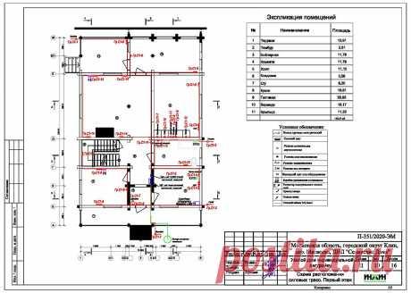 Проект электрики дома пример 531