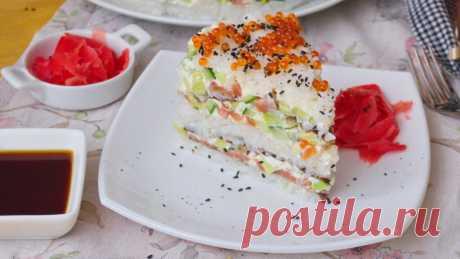 Суши-Торт Филадельфия