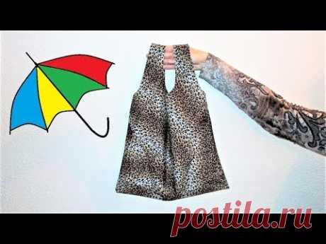 Сумка для покупок из зонтика. Umbrella Shopping Bag - YouTube