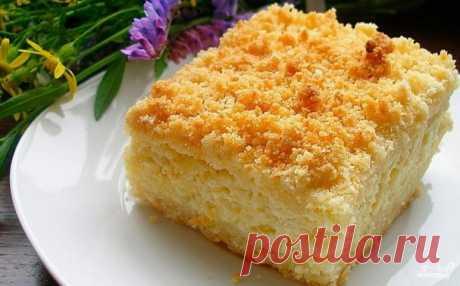 Творожная коврижка - пошаговый рецепт с фото на Повар.ру