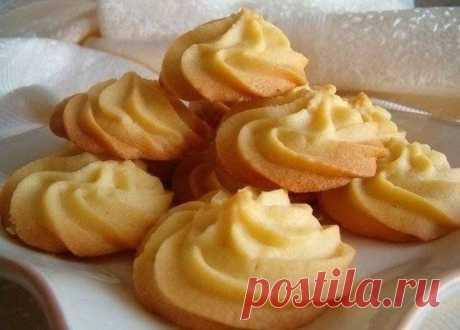 Как приготовить нежное печенье «тающий момент»  - рецепт, ингредиенты и фотографии