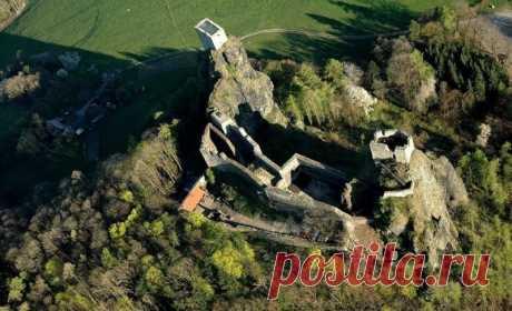 Крепость Троски: символ северной Чехии — Путешествия