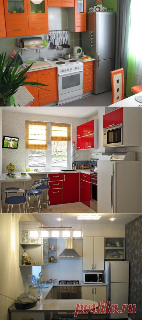 Кухня в хрущевке: размеры, проект и варианты отделки