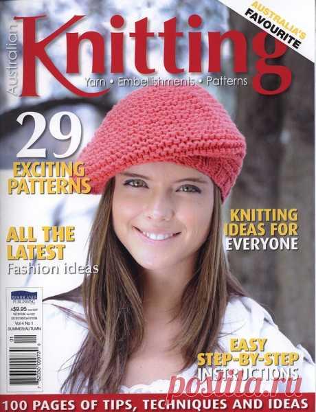 Australian Knitting vol. 4 № 1 Summer - Autumn 2012 - Китайские, японские - Журналы по рукоделию - Страна рукоделия
