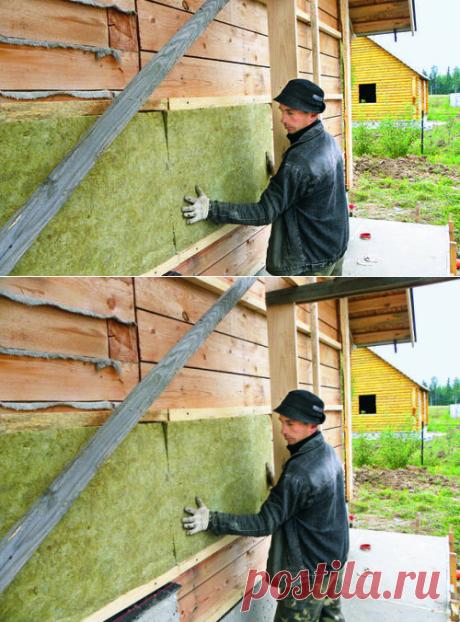 Как избежать ошибок при утеплении деревянного дома