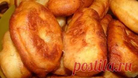 Пирожки на картофельном отваре с дрожжами – рецепт теста и начинки