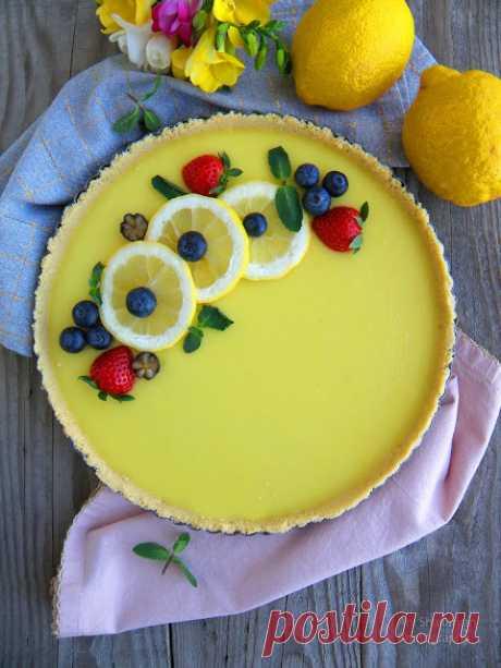 Вкуснотека: Лимоново-кокосов тарт