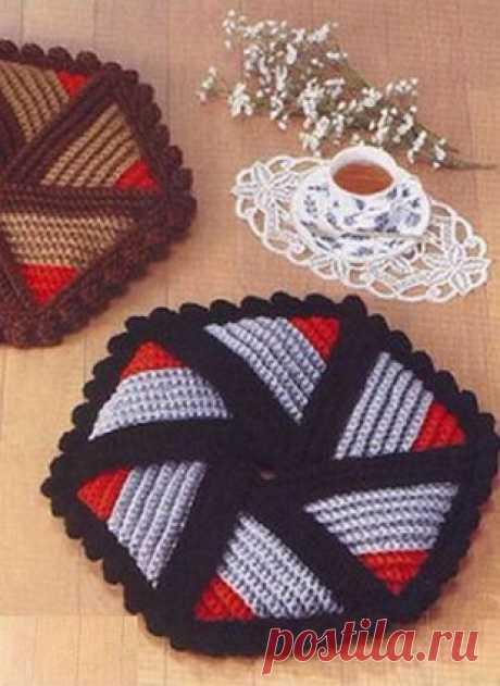 Схемы вязания для уюта в доме.