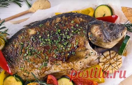 Очень вкусная пряная рыба по-китайски