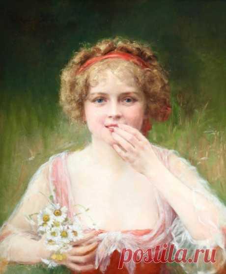 Американский художник Джеймс Кэролл Беквит (1852-1917)
