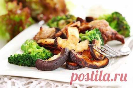 Вкусные идеи здорового питания: брокколи с грибами   EverydayMe Russia