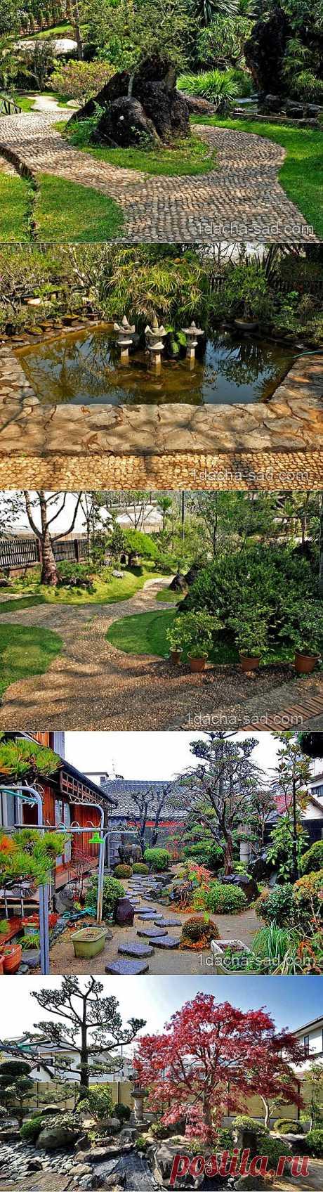 Небольшой японский сад своими руками на даче