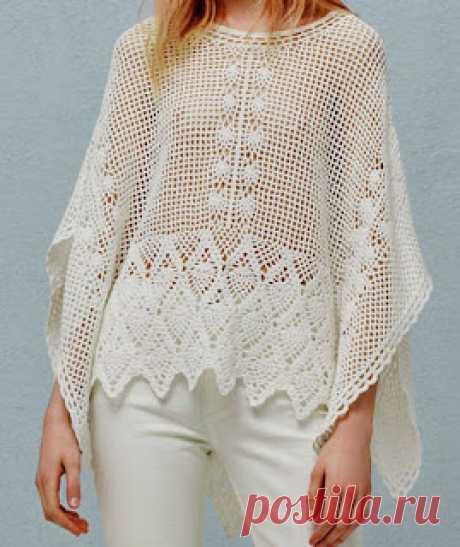 Tina's handicraft : crochet shirt