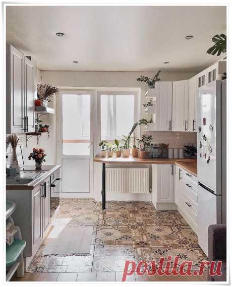 И почему я не догадалась до подобной планировки кухоньки   Стильный Дом   Яндекс Дзен