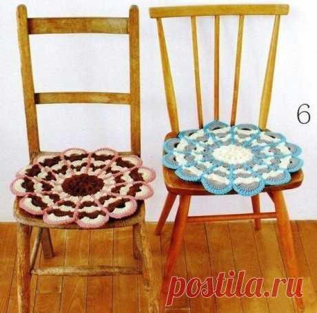 """Симпатичные сидушки на стулья, украшаем свой дом! Конкурс """"Счастливый комментарий"""" - комментируй публикации, получай призы каждую неделю! Детали конкурса читайте здесь ЗДЕСЬ"""