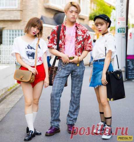 Яркие модницы и модники с улиц Токио (35 фото)   Чёрт побери Япония — удивительная страна! Многое, происходящее там, не поддается нашему пониманию. Вот таких ярких и модных персонажей можно встретить на улицах Токио.