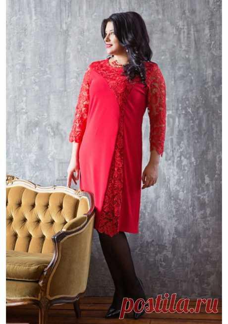 Купить платье LUXURI PLUS за 4880 руб. в интернет магазине Shopgruop.ru