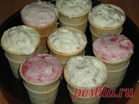 Домашнее мороженое, вкус того самого советского пломбира
