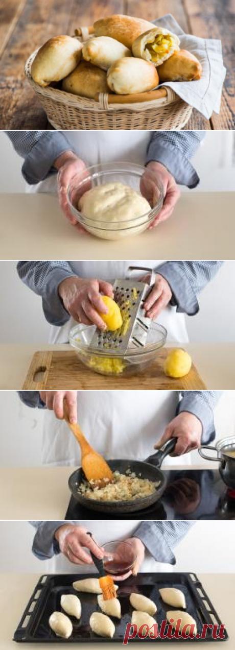 Los pastelillos magros con las patatas preparar simplemente y bastante rápidamente — las recetas Sabrosas