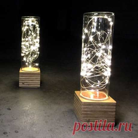 Светодиодный настольный светильник на батарейках
