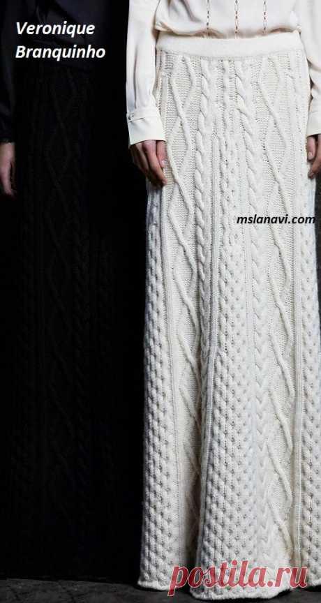 Вязаные юбки спицами | Вяжем с Лана Ви