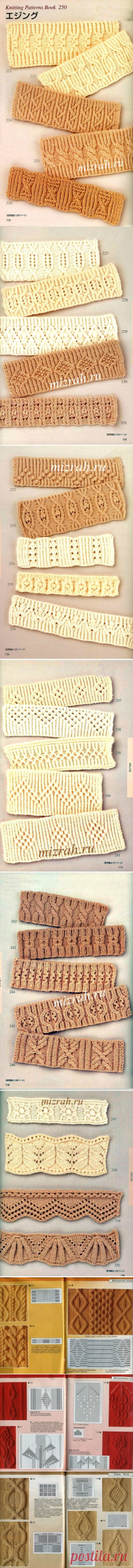 "Country of knitting ""Ярния"". It is A LOT OF PATTERNS - Arana, braids, plaits. Volume - SPOKES."