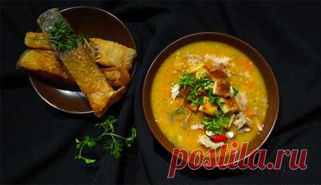 Рождественский чешский рыбный суп (Czech Christmas Fish Soup – Ceska Vanocni Rybi Polevka)