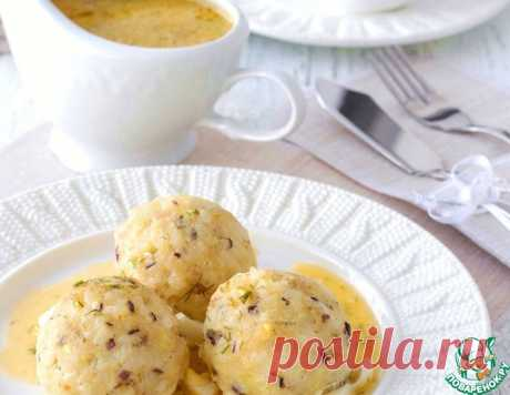 Тефтели из трески под польским соусом – кулинарный рецепт