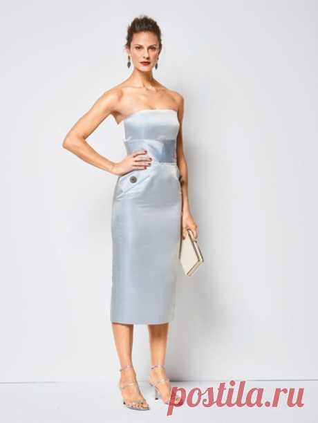 34b087a05d1 Платье-бюстье - выкройка № 6441 из журнала 13 2018 Каталог Burda – выкройки