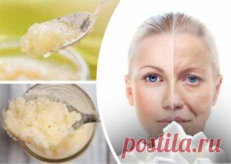 Сахарный скраб для лица - качественное и безопасное очищения кожи в домашних условиях